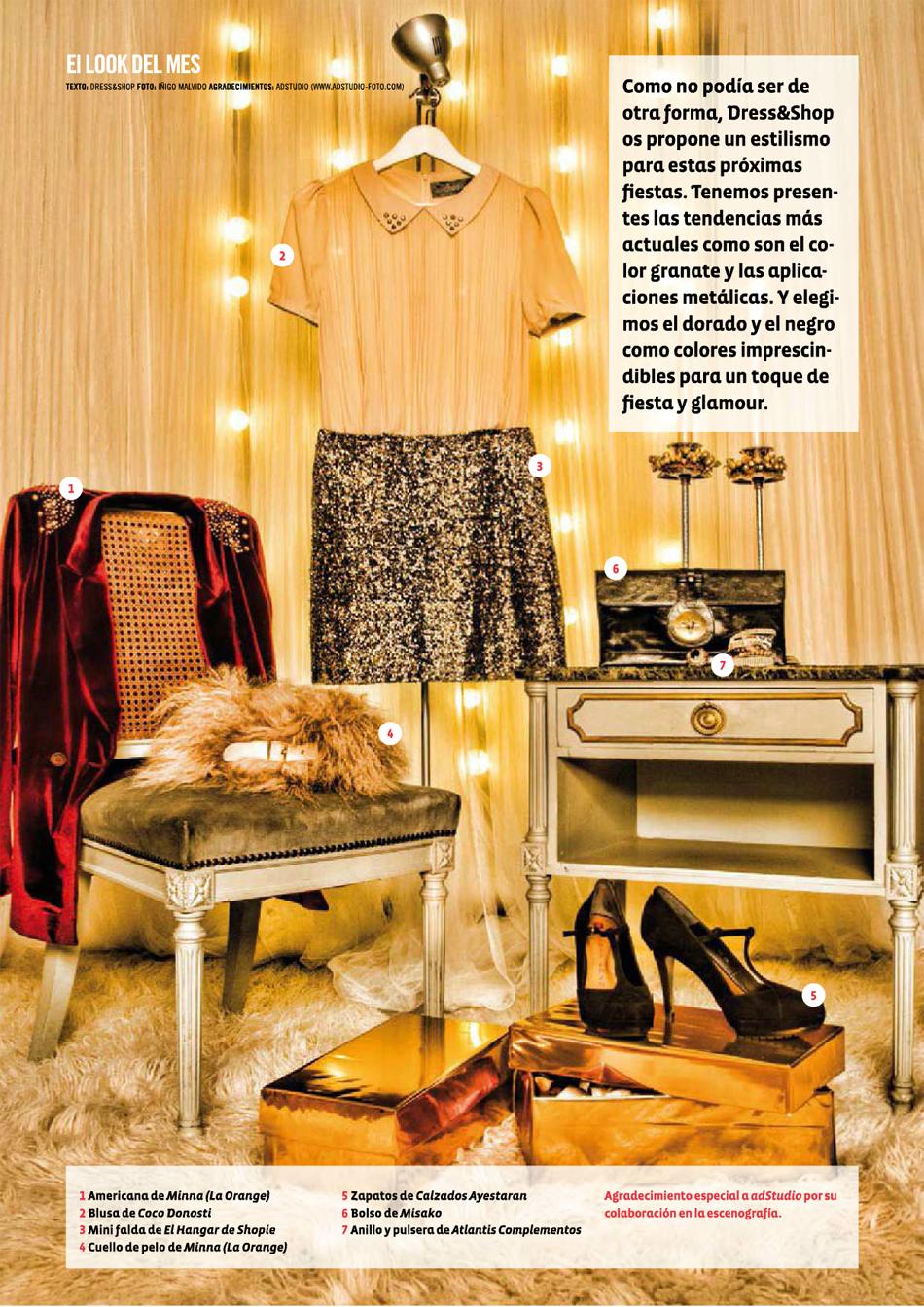 943 Magazine / Look de diciembre