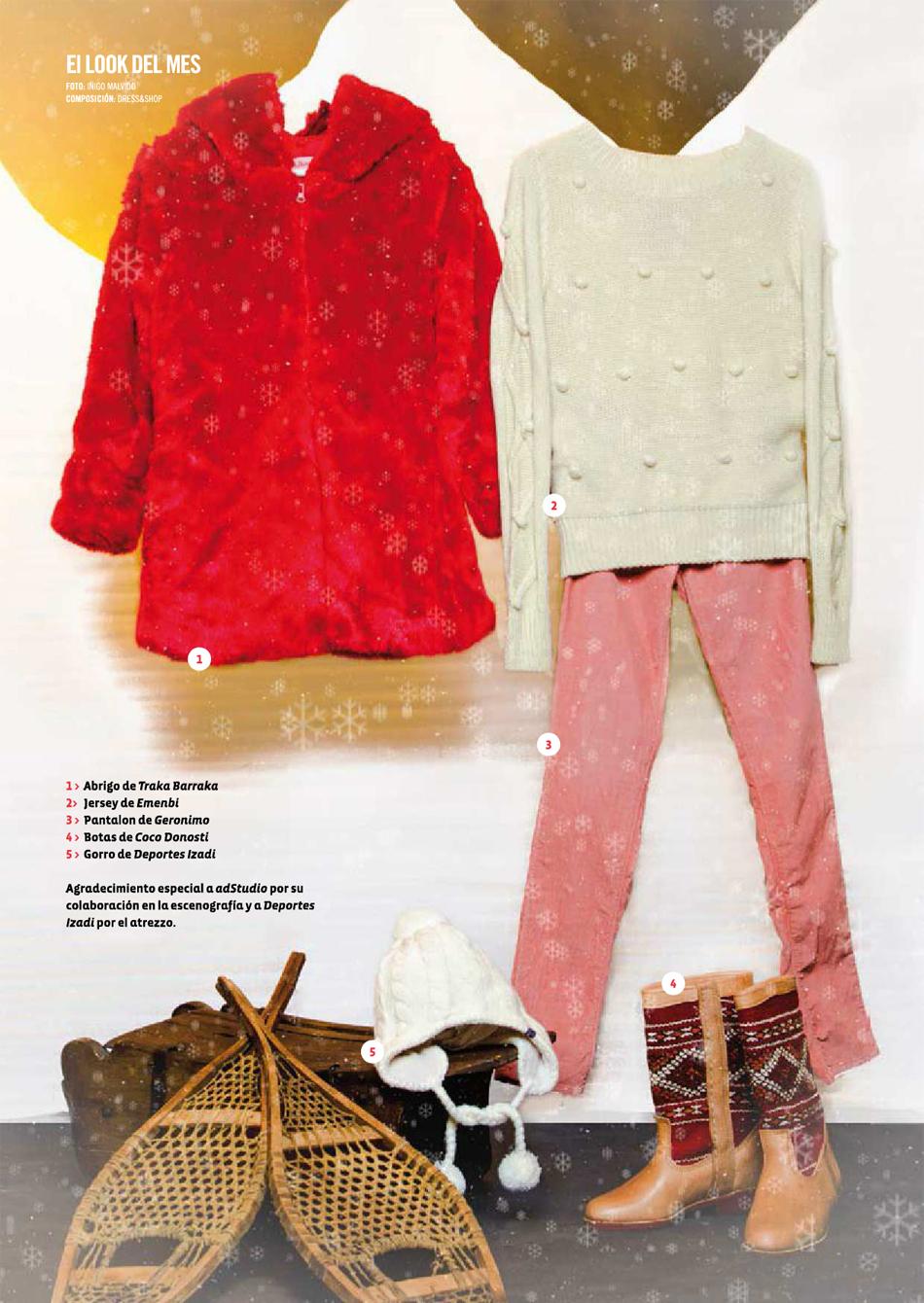943 Magazine / Look de febrero