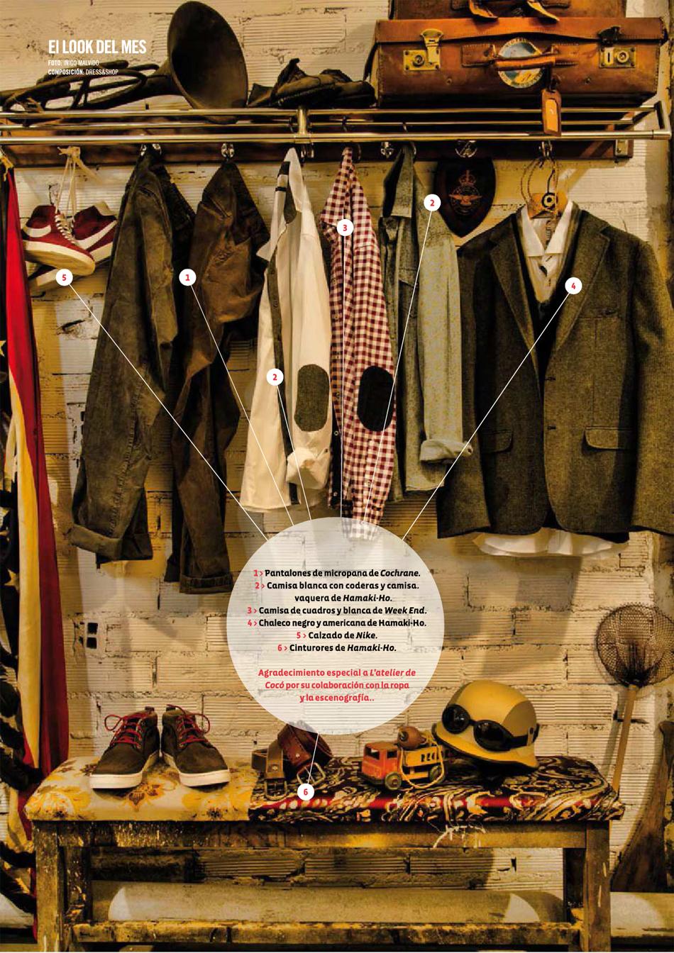 943 Magazine / Look de marzo