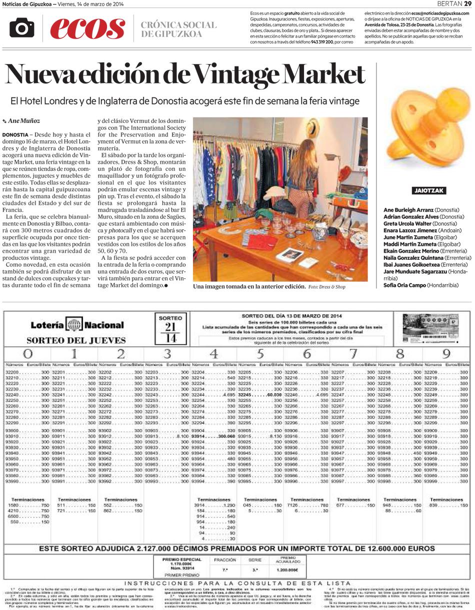 Nueva edición Vintage Market