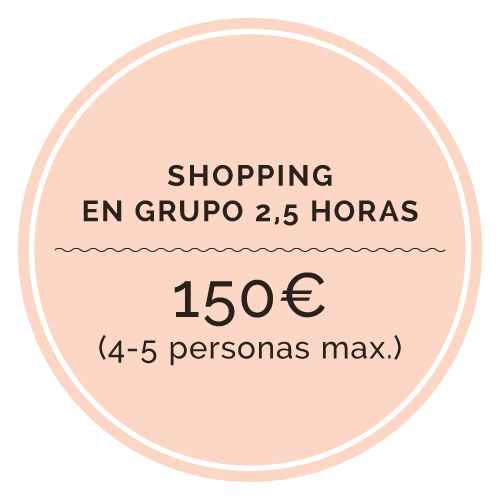 Shopping grupos 4-5 personas